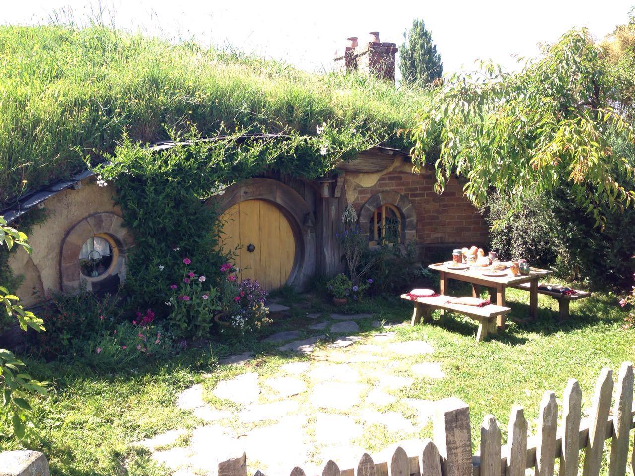 霍比人的小院